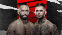 Indosport - Rob Font vs Cody Garbrandt di UFC Vegas 27.