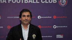 Indosport - Eduardo Almeida buka suara soal pertimbangan Arema FC untuk ikut turnamen pramusim.