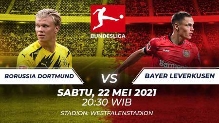 Link Live Streaming Bundesliga Jerman: Borussia Dortmund vs Bayer Leverkusen. - INDOSPORT