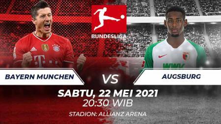 Link Live Streaming Pertandingan Bundesliga Jerman: Bayern Munchen vs FC Augsburg. - INDOSPORT