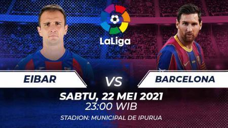Eibar vs Barcelona - INDOSPORT