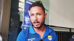 Indosport - Wander Luiz absen saat Persib melawan Tira-Persikabo.