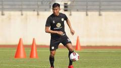 Indosport - pemain Barito Putera, Miftah Anwar Sani.