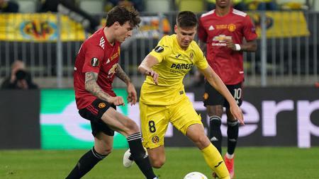 Villarreal vs Man United. - INDOSPORT