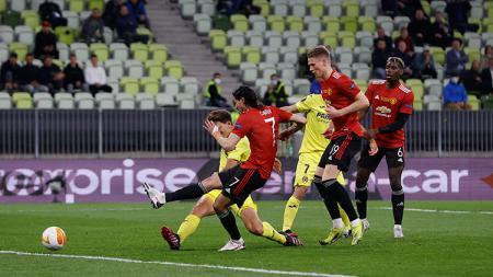Gara-gara kekalahan Manchester United kontra Villarreal di Liga Europa, Liverpool kena sial saat akan lakoni drawing pentas terakbar di Eropa. - INDOSPORT