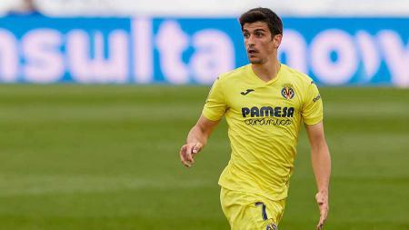 Gerard Moreno, pemain serang Villarreal. - INDOSPORT