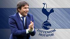 Indosport - Antonio Conte dan Tottenham Hotspur.