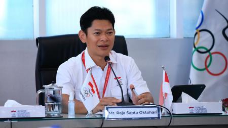Setelah tragedi di Piala Thomas 2020, Komite Olimpiade Indonesia (KOI) pimpinan Raja Sapta Oktohari tengah mengupayakan Merah Putih bisa berkibar di SEA Games 2022 nanti. - INDOSPORT