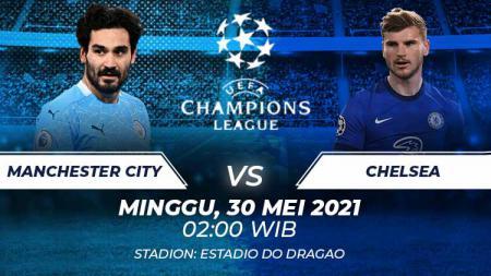 Manchester City vs Chelsea. - INDOSPORT