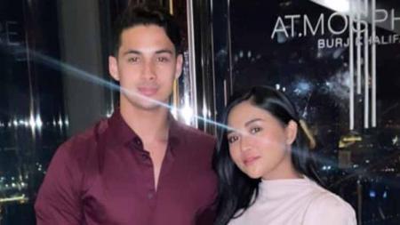 Rachel Venya bersama pacar barunya yang bernama Salim Nauderer. - INDOSPORT