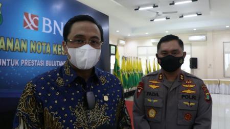 Sekjen PBSI, Muhammad Fadil Imran, memberikan komentarnya melihat pebulutangkis top Indonesia menelan kekalahan di simulasi Olimpiade Tokyo 2020. - INDOSPORT