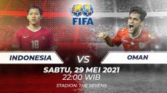 Indosport - Prediksi Indonesia vs Oman