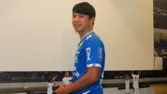 Indosport - Pemain belakang Persib Bandung, Achmad Jufriyanto.