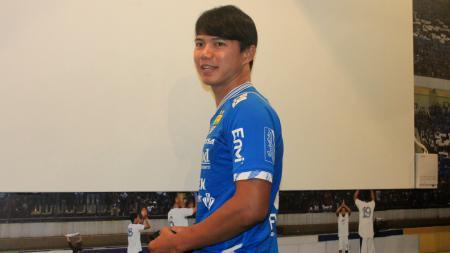 Pemain belakang Persib Bandung, Achmad Jufriyanto. - INDOSPORT