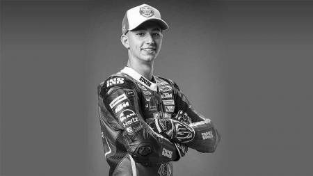 Jason Dupasquier, mengalami kecelakaan di Mugello, Rider Moto3 dinyatakan wafat. - INDOSPORT
