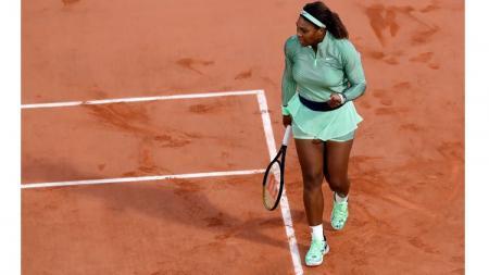 Serena Williams di French Open 2021. - INDOSPORT