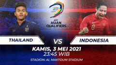 Indosport - Timnas Indonesia akan melakoni laga lanjutan babak kualifikasi grup G Piala Dunia 2022 Qatar melawan Thailand di Stadion Al Maktoum, Dubai Kamis (03/06/21).