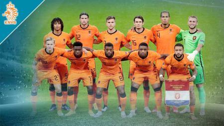 Timnas Belanda di Euro 2020. - INDOSPORT