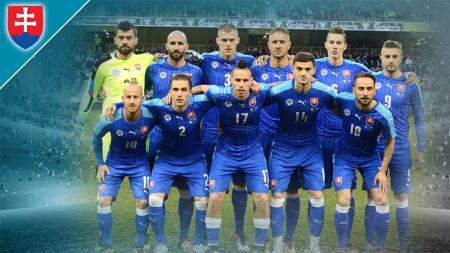 Timnas Slovakia di Euro 2020. - INDOSPORT