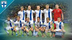 Indosport - Timnas Finlandia di Euro 2020.