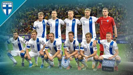 Timnas Finlandia di Euro 2020. - INDOSPORT