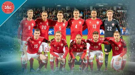 Timnas Denmark di Euro 2020. - INDOSPORT