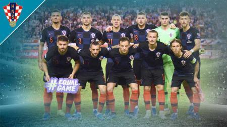 Euro 2020 alias Piala Eropa 2020 akan digelar pada 11 Juni – 11 Juli 2021. Berikut profil timnas Kroasia, yang tergabung di Grup D dalam ajang tersebut. - INDOSPORT