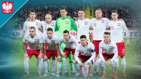 Timnas Polandia di Euro 2020. - INDOSPORT