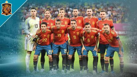 Timnas Spanyol di Euro 2020. - INDOSPORT