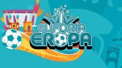 Indosport - Logo Euforia Eropa Euro 2020