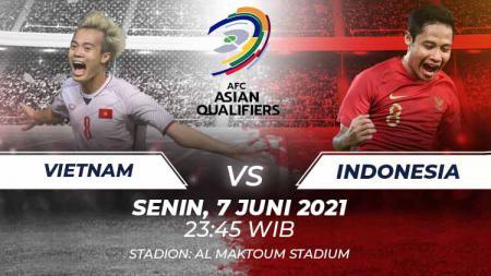 Timnas Indonesia akan bertemu Vietnam di Kualifikasi Piala Dunia 2022 Grup G zona Asia, Senin (07/06/21) di Stadion Al Maktoum Stadium, Dubai. - INDOSPORT