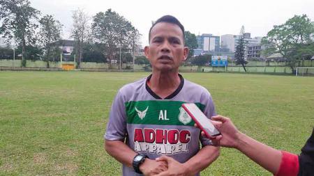 Pelatih PSMS Medan, Ansyari Lubis. - INDOSPORT