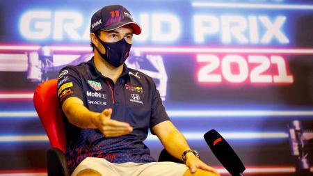 Sergio Perez bersama Red Bull Racing di F1 2021. - INDOSPORT