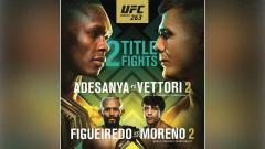Indosport - Dua perebutan gelar juara di UFC 263.