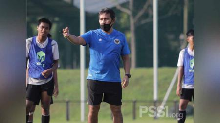 Seleksi tahap kedua Timnas Indonesia U-16 di Lapangan D Senayan, Jakarta, Senin (07/06/21). - INDOSPORT
