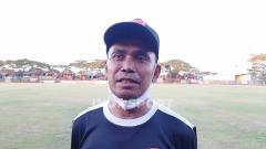 Indosport - Pelatih klub Liga 1 PSM Makassar, Syamsuddin Batola.
