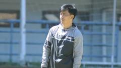 Indosport - Pelatih fisik Persib Bandung, Yaya Sunarya.