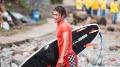 Indosport - Atlet selancar alias surfing, Rio Waida.