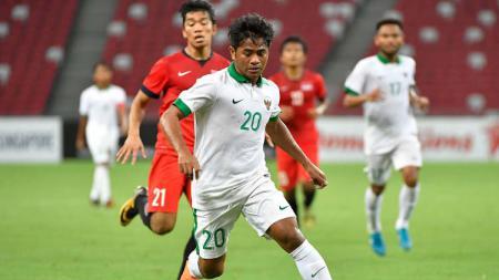 Pemain baru PSM Makassar, Ilham Udin Armaiyn. - INDOSPORT