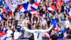 Indosport - Euro 2020: Prancis Gagal Menang, Griezmann Sebut Fans Hungaria Terlalu Bising.