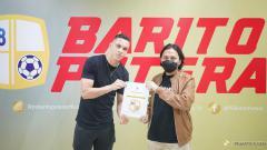 Indosport - Pemain asing anyar Barito Putera, Rafinha.