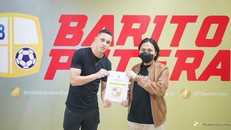 Pemain asing anyar Barito Putera, Rafinha. - INDOSPORT