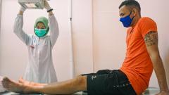 Indosport - Pemain baru Persebaya Surabaya, Jose Wilkson.
