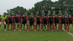 Indosport - PSMS Medan melakukan laga uji coba dengan tim amatir Liga 3 Sumut, YOB Belawan, Kamis (10/06/21) petang.