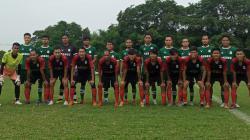 PSMS Medan melakukan laga uji coba dengan tim amatir Liga 3 Sumut, YOB Belawan, Kamis (10/06/21) petang.