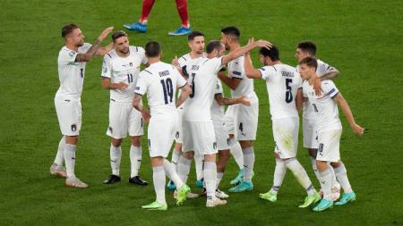 Berikut klasemen grup A Euro 2020 yang memperlihatkan dominasi Italia sebagai raja klasemen usai taklukan Turki. - INDOSPORT