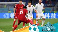 Indosport - Usai Cukur Turki, Gelandang Chelsea Siap Bawa Italia Menang Lagi di Euro 2020.
