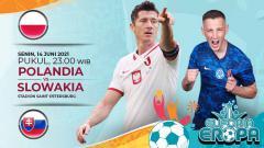 Indosport - Berikut ini link live streaming pertandingan antara Polandia vs Slovakia di laga pertama Grup E Euro 2020