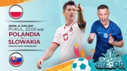 Berikut ini link live streaming pertandingan antara Polandia vs Slovakia di laga pertama Grup E Euro 2020