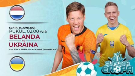 Link Live Streaming Pertandingan antara Belanda vs Ukraina (Euforia Eropa 2020). - INDOSPORT